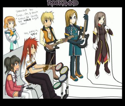 ROCKBAND: ToA Style by PencilWarrior