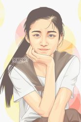 beauty japanese vector by Ncepart28