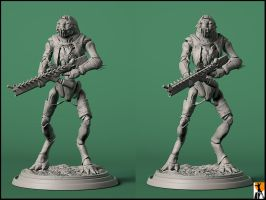 District 9 Christopher by AYsculpture