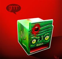 green monster by TOTOPO