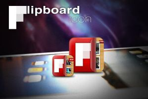 FlipBoard iPad icon by turnpaper