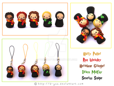 Harry potter figurines by TokiCrafts
