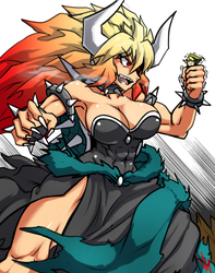 AND NOW! GIGA BOWSETTE! by KarmanSeph
