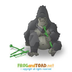 Gorille - Gorilla FROGandTOAD by FROG-and-TOAD