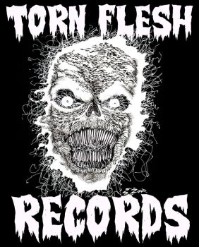 TORN FLESH RECORDS - Artwork by CZR31