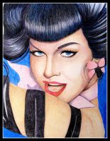 Bettie Page II by tanabatablossom