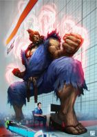 Akuma Shadowloo210713 by Omuk
