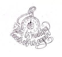 Dumbledore Quote tattoo sketch by Nevermore-Ink