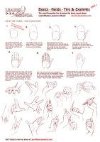 LearnManga Basics Hands Part 1 by Naschi