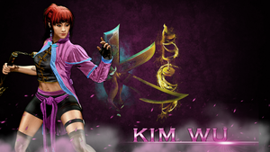 Kim Wu wallpaper by LordHellhammer