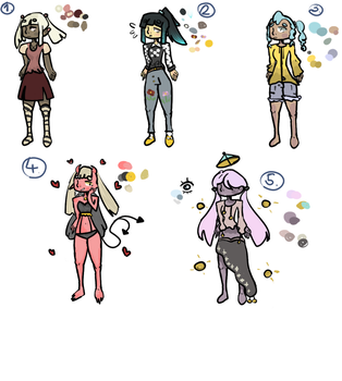 Adopts 5/4 open by RainbowOwO