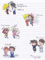 Hetalia FanCouples Chibi Part4 by DjAmuStar