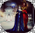 .:King and Queen:. by TheNight-Guardian