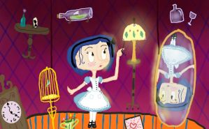 Coraline- Down the rabbit hole by ButtonGirl013