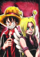 Conis x Luffy #2 by Koza-Kun