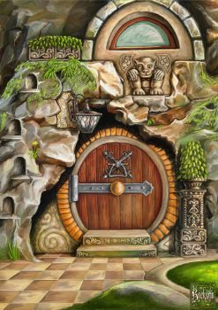 House Of The Hobbit 2 by KreksofinArt