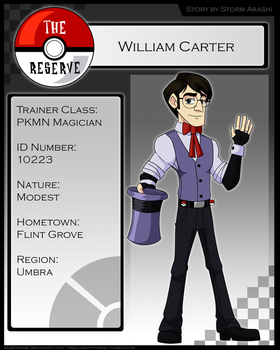 TR: William Carter by Aileen-Rose