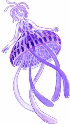 violet jellyfish by spoon2