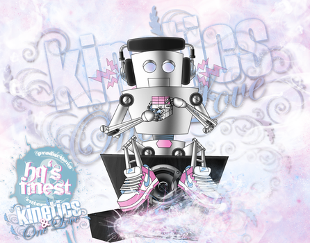 Kinetics and One Love Robotic Creation by Hqs-Finest