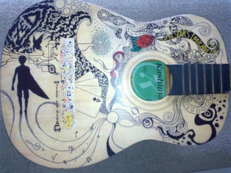 sharpie - guitar VI by MauroZED