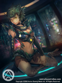Astro Boy: Edge of Time (Lada card) by makushiro