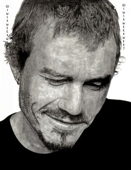 Heath Ledger - A Legend by InsaneKane87