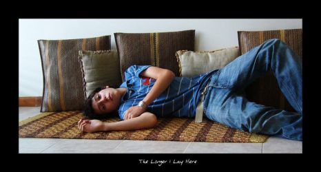 The Longer I Lay Here by RobbyP