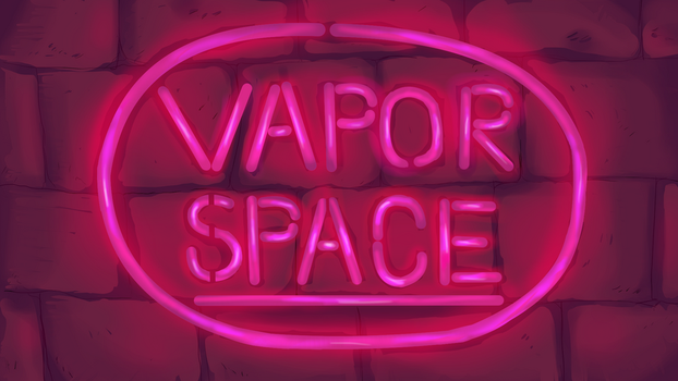 Vaporspace: Logo by SlenderSpawn