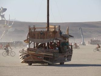 The Dusty Junk, on playa by oddhatter