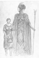 Queen Of Numenor by TurnerMohan