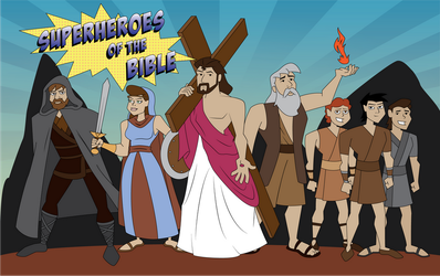 Superheroes of the Bible by JK-Antwon