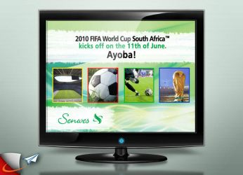 Senwes WC 2010 screen saver by Infoworks