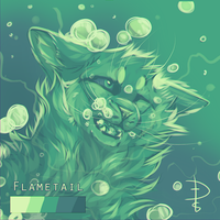[CHALLENGE] - Flametail [Saltwater Tears] by Fox-Desert