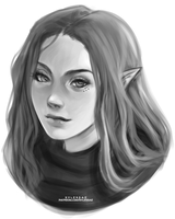 Lakin Sketch [Birthday Gift] by sylessae