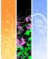 Flowery Graphics by Kittensoft
