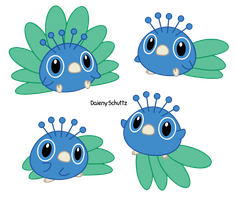 Little Peacock by Daieny