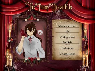 The Penny Dreadfuls: Sebastian Price by koicchii