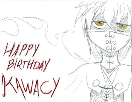 HappyBirthday Kawacy by SoruItaLover