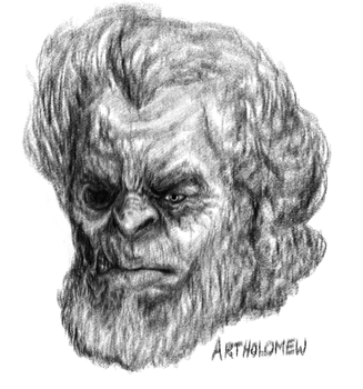Artholomew Head by GraphiteGrey
