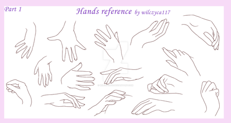 Hands reference 1 by wilczyca117