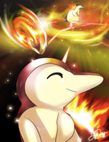 Dream big Cyndaquil