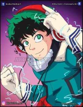 Deku from My Hero Academia by GZ-Iconic-Ent