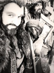 Thorin and Bofur at the Faire by Jathoris