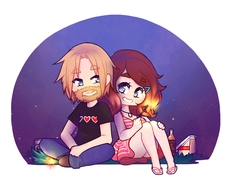 Summer Nights [P] by LucciolaCrown