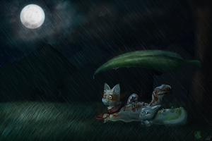 .:CM:. Shelter (Speedpant!) by CanisChiroptera