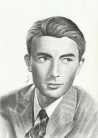 #12: Gregory Peck by DominicDrawsArt