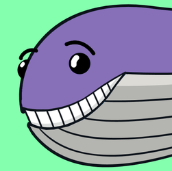 New Less Edgy Wailord by MaxHamee