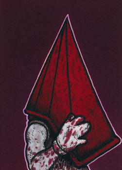 Pyramid Head - Isolation by Yamallow