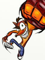 Crash bandicoot by EPICamiture2099