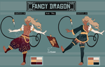 [CLOSED] [ITD] [AUCTION] FANCY DRAGON by SpaceOwlAdoptables